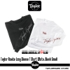 Taylor Roadie Long-Sleeve T-Shirt White&Black Small
